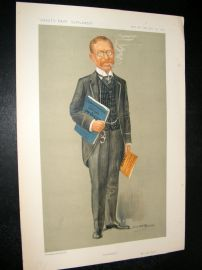 Vanity Fair Print 1911 Lucien Wolf, Newspaperman